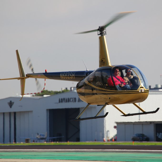 Learn to Fly a R44 Helicopter in LA