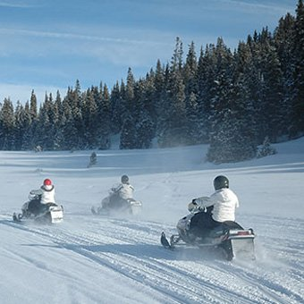 Family Fun Snowmobiling