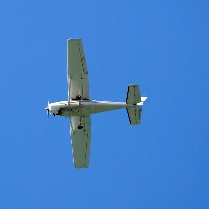 Sightseeing Flight in a Cessna 172, Iowa