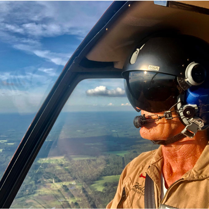 Intro Flight Lesson in a R-44 Helicopter from Tallahassee