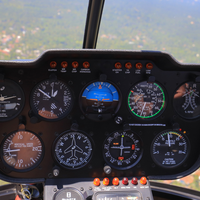 Introductory Helicopter Flight Lesson in Michigan