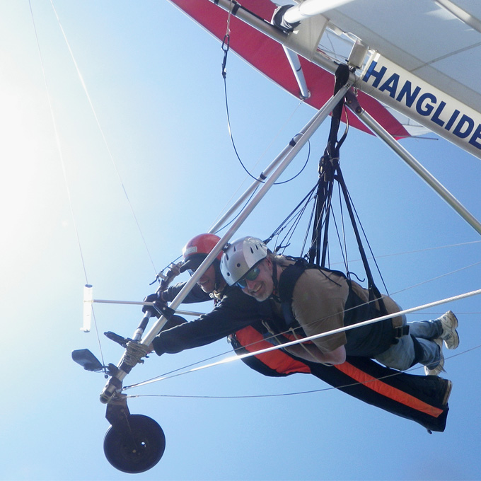 Tandem Hang Gliding in Georgia