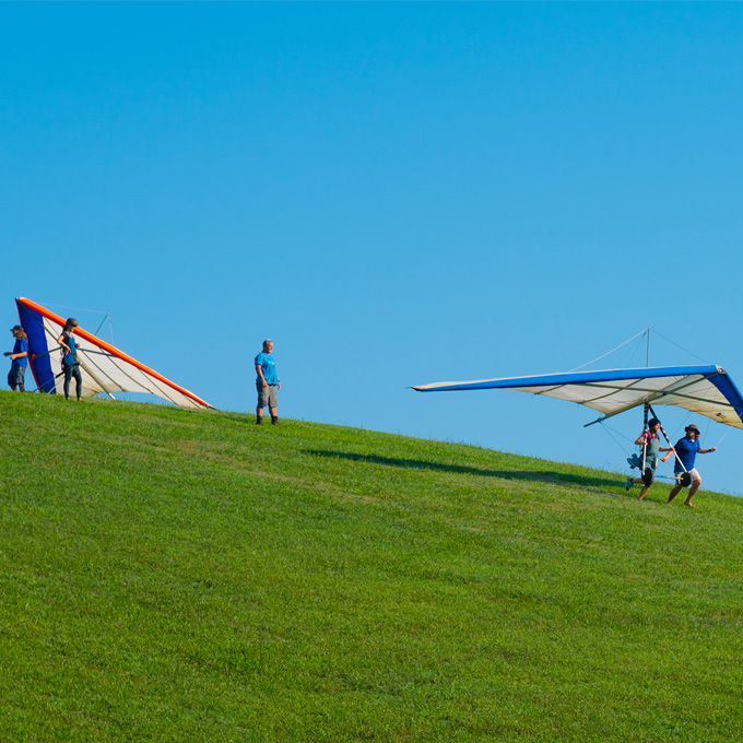 Try Your Hand at Hang Gliding