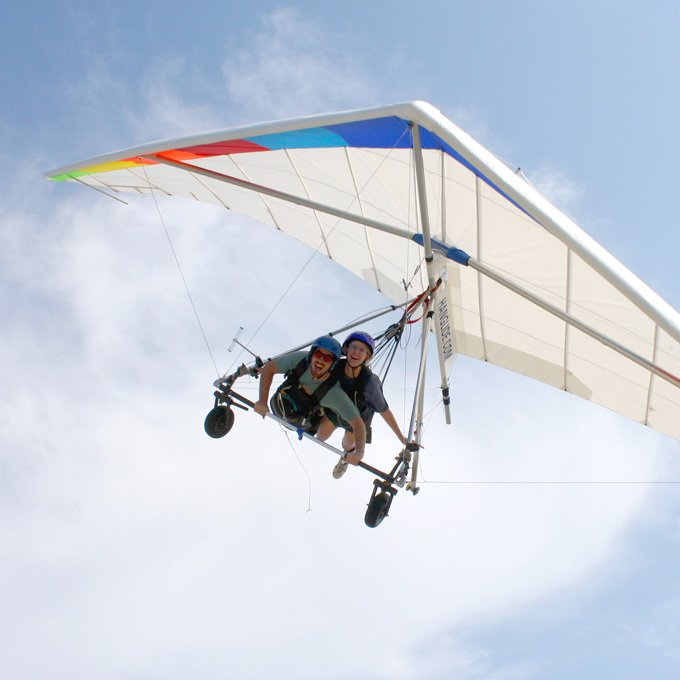 Tandem Hang Gliding Flight in Georgia