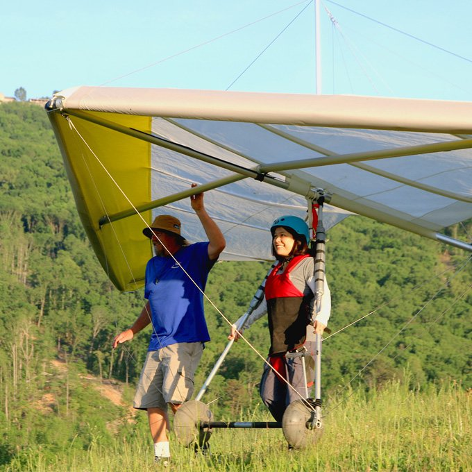 Hang Gliding Lesson for Beginners