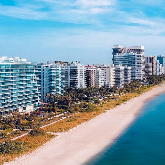 See Miami Beach From the Air