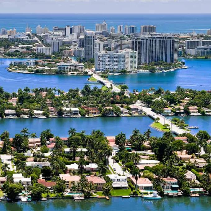 Miami Beach Plane Tour