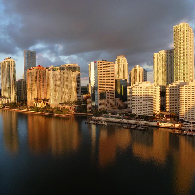 Scenic Flight From Miami