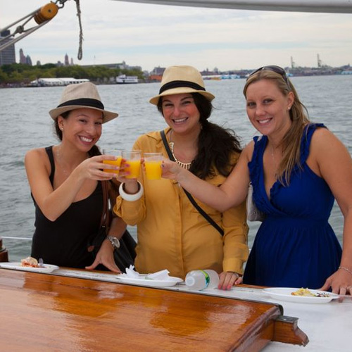Fun on the NYC Champagne Brunch Cruise