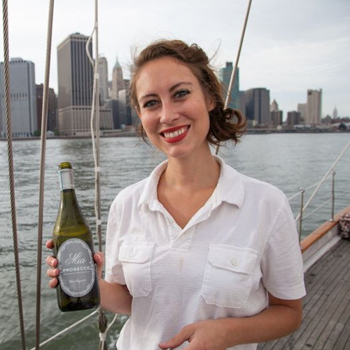 Serving Wine on the NYC Wine Tasting Cruise