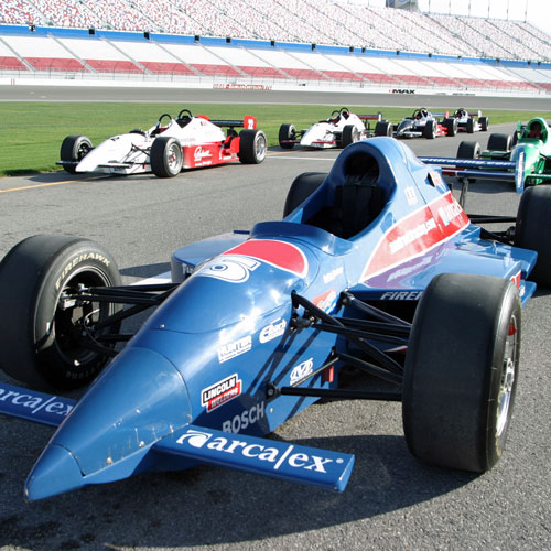 Indy Car Racing at Dover Speedway
