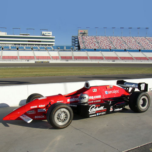 Indy Car Driving Experience in Sparta