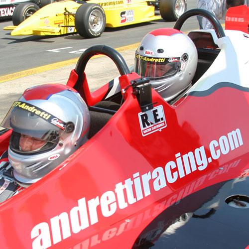 Indy Car Ride Along in Phoenix
