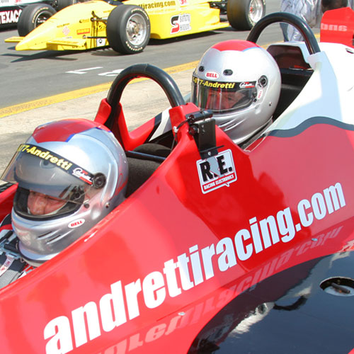 Indy Car Ride Along in Chicago at the Chicagoland Speedway