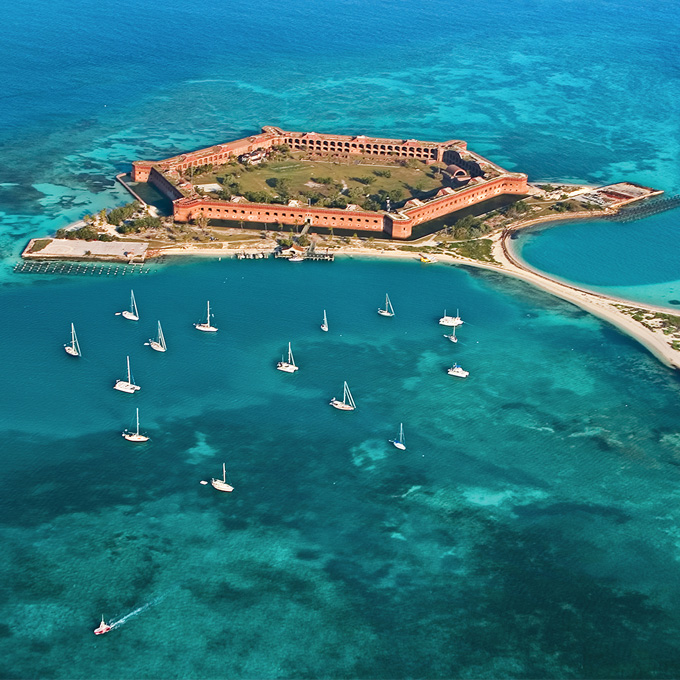 See Key Largo From the Air
