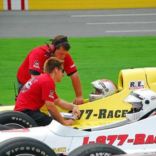Indy Car Racing in Vegas