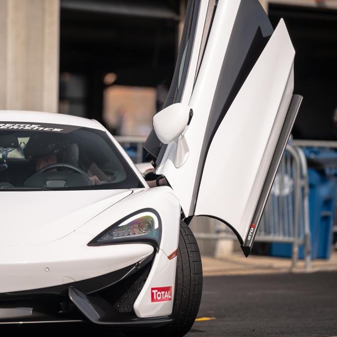 Race a McLaren 570S at Milwaukee Mile Speedway