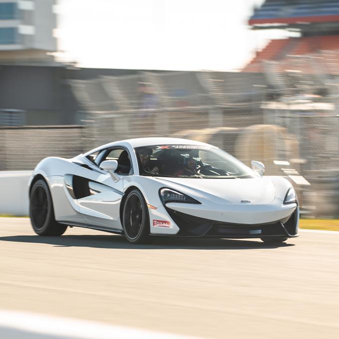 Drive a McLaren at NC Center for Automotive Research
