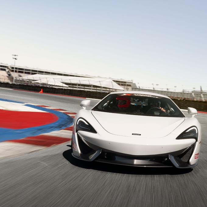 Race a McLaren 570S near Raleigh
