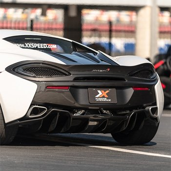 Race a McLaren 570S near Houston