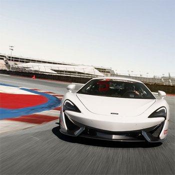 McLaren Driving Experience in California