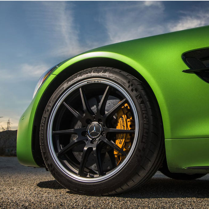 Drive a Mercedes AMG GT R at Auto Club Speedway