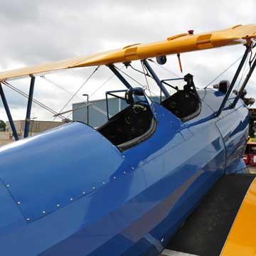 Stearman Biplane Ride Above Cannon Falls