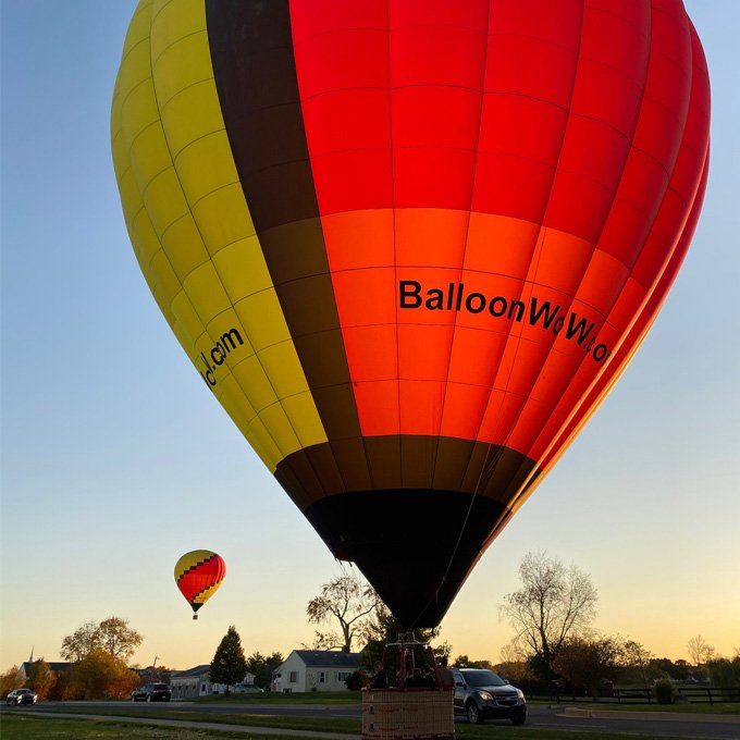 Indianapolis Hot Air Balloon Ride