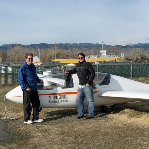 Ride a Glider in Denver