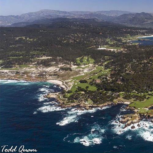 Aerial Views of Monterey Bay