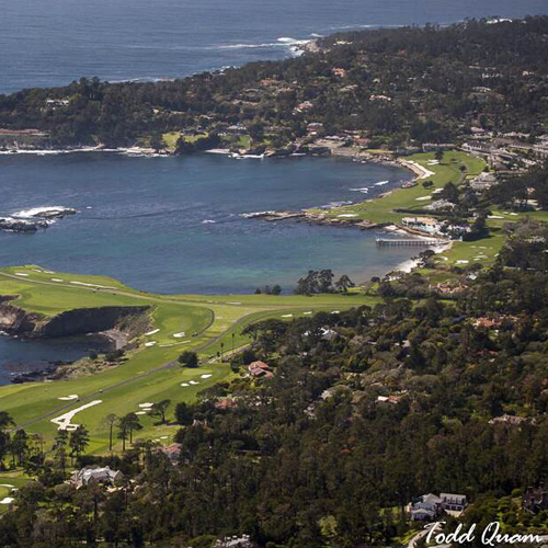 Aerial Views of Golf Courses