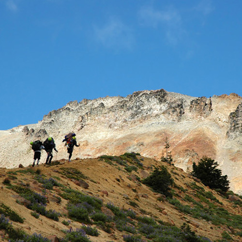 Hikers View of Mt. St Helens in Seattle