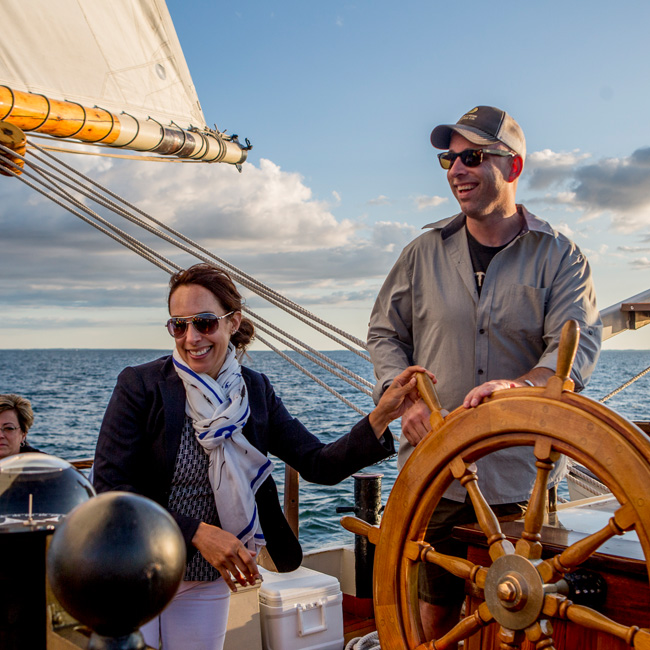 New London Sailing Cruise on Mystic Whaler
