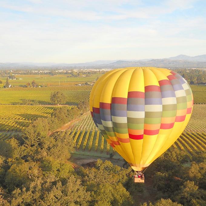 Balloon Flight in Sonoma Valley