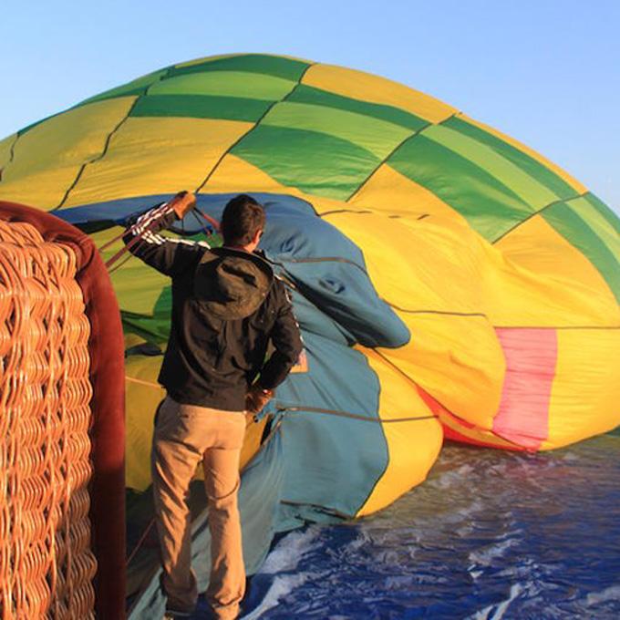 Hot Air Balloon Setup