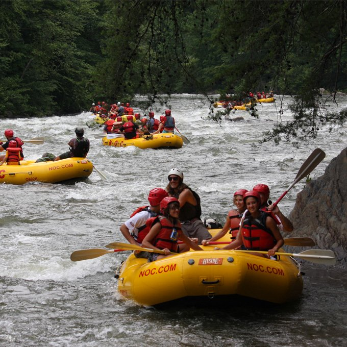 Nashville Whitewater Rafting