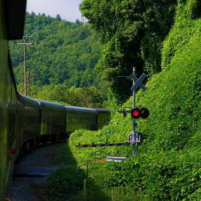 Nantahala Train Tour in NC