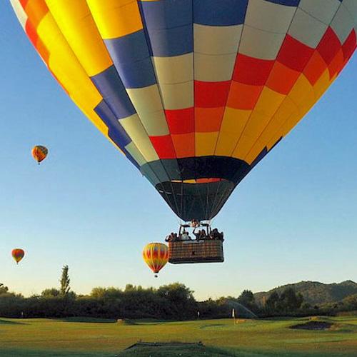 Balloon Ride in San Francisco
