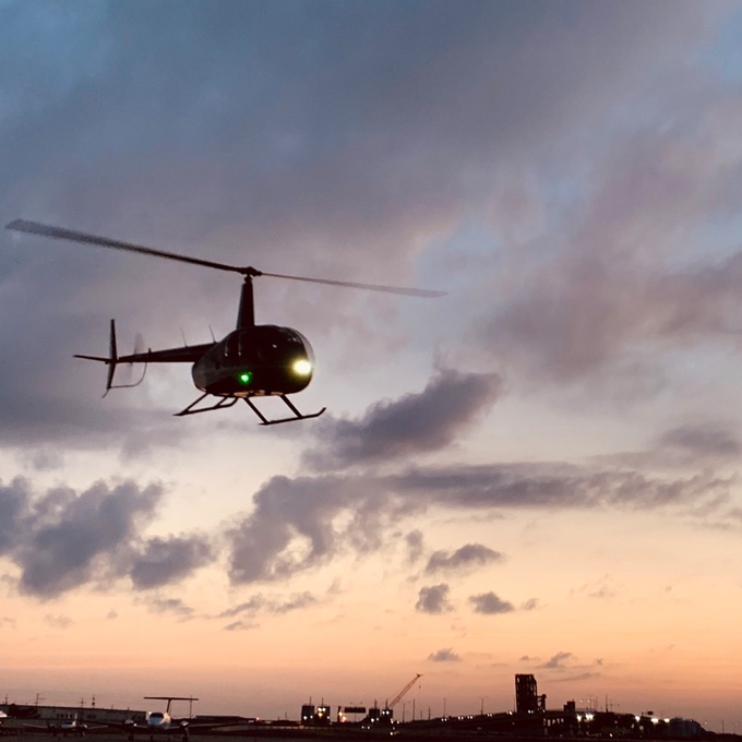 Learn to Fly a Helicopter in New Orleans, LA