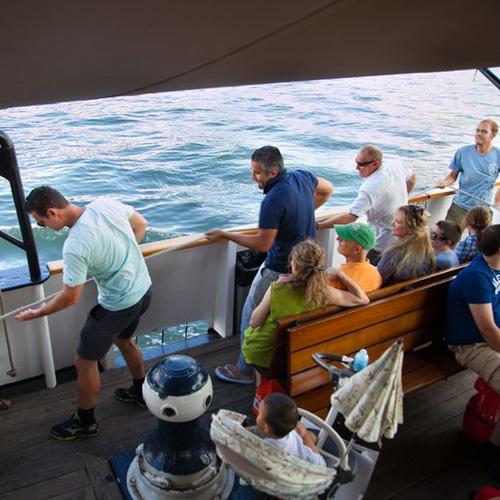 Hoisting the Sails on New York Tall Ship