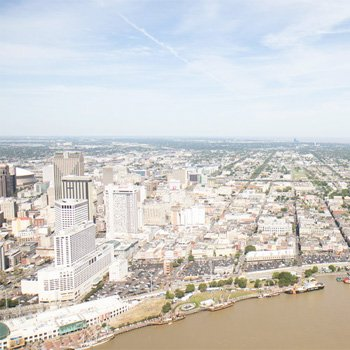 Romantic Helicopter Tour through Downtown New Orleans