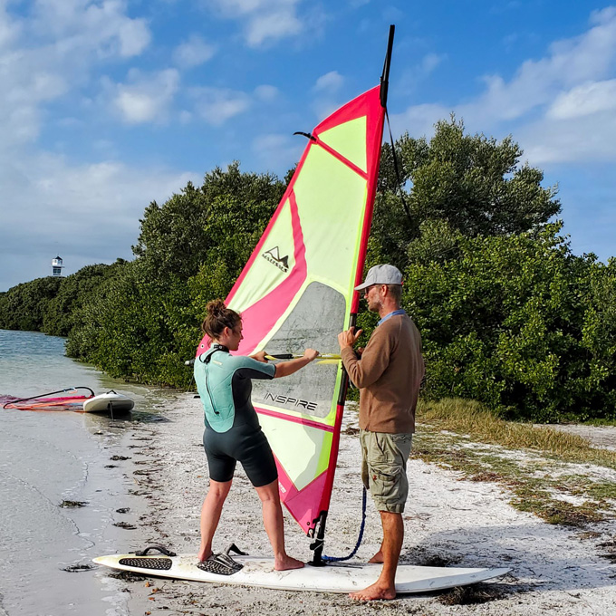 Windsurf Lesson in Tampa
