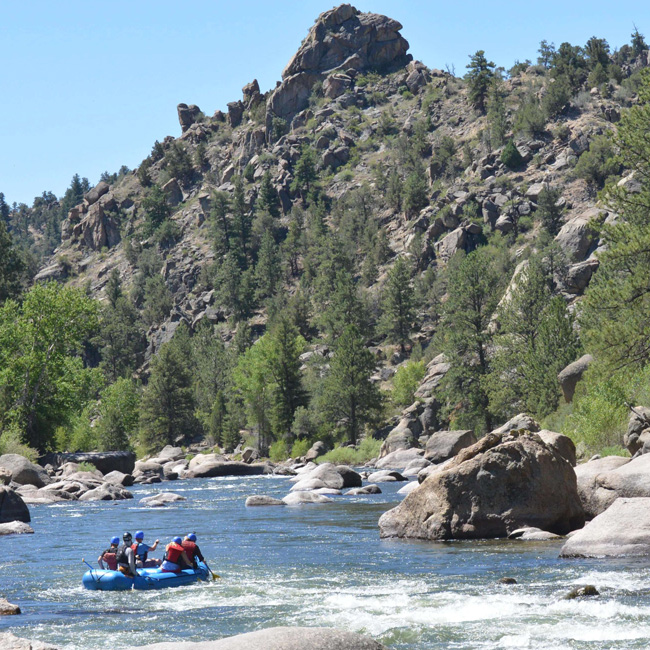 River Rafting Trip on the Upper Colorado