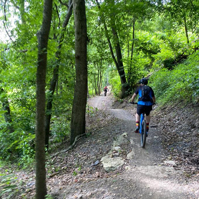 Guided Mountain Biking