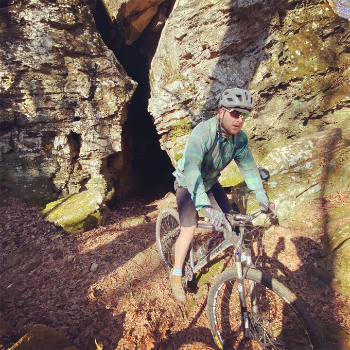 Guided Arkansas Mountain Biking Tour