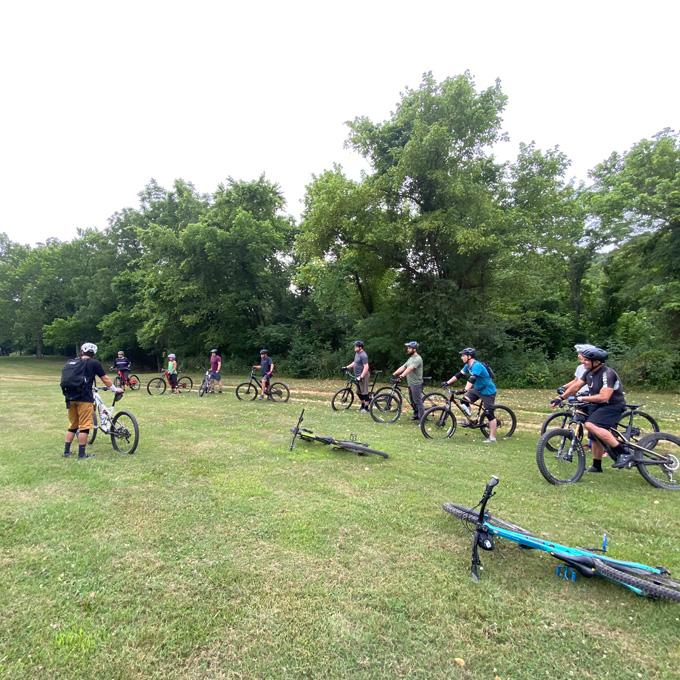 Arkansas Mountain Bike Lesson