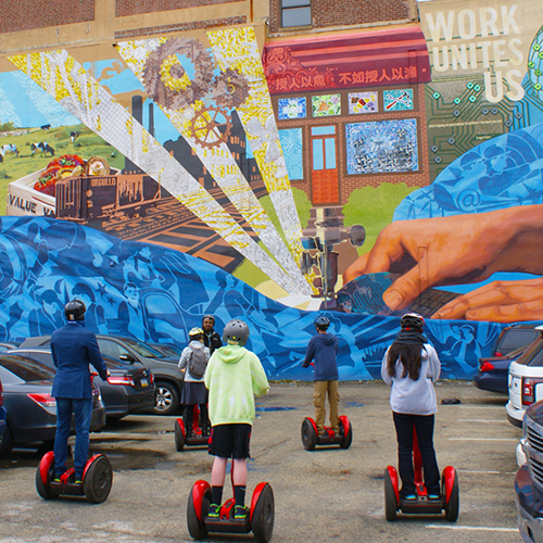 Guided Segway Mural Tour