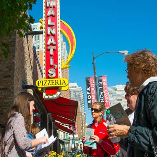 Lou Malnati's on Best of Chicago Food Tour