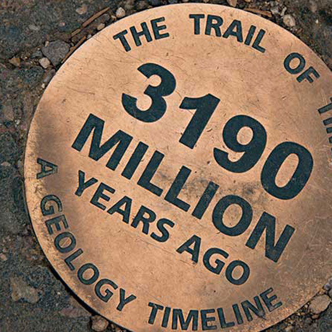 Trail of Time Path Grand Canyon