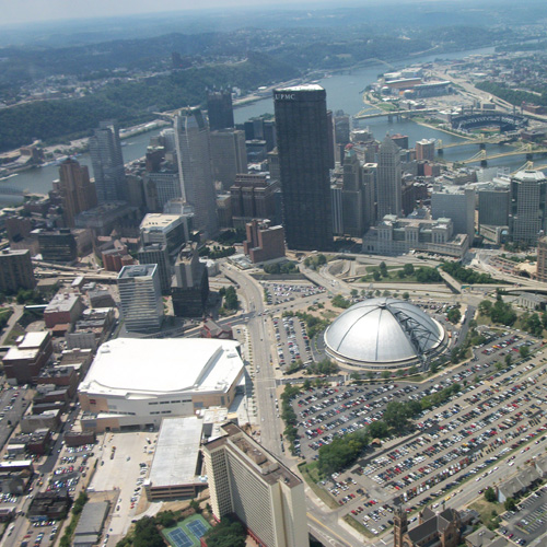 Downtown Pittsburgh Helicopter Tour